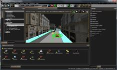 駕駛模擬與交通場景編輯系統