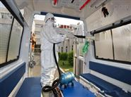 防范新冠病毒用电动喷雾器消毒