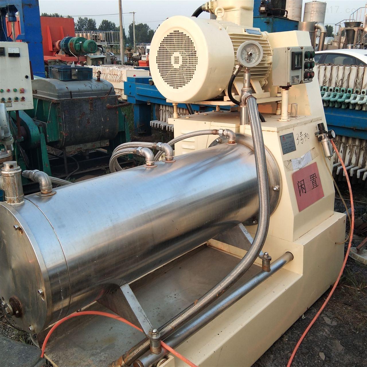 长期回收20升卧式砂磨机