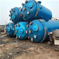 3000升反应釜长期回收二手搪瓷反应釜
