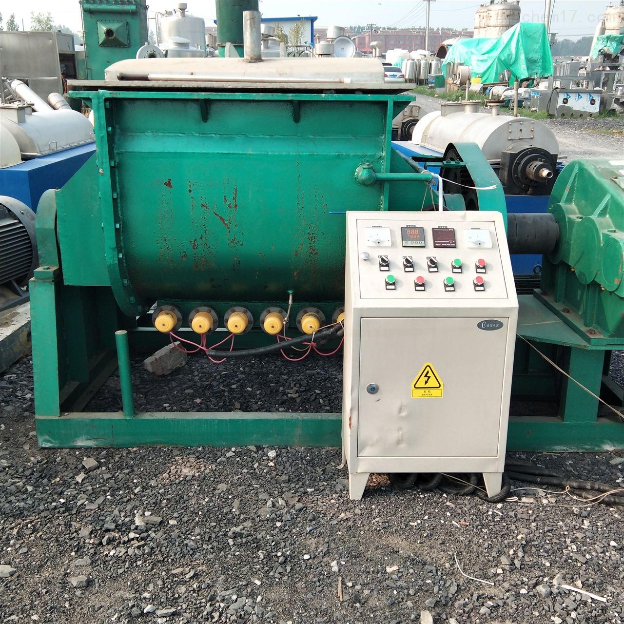 高价回收1000升液压翻缸捏合机