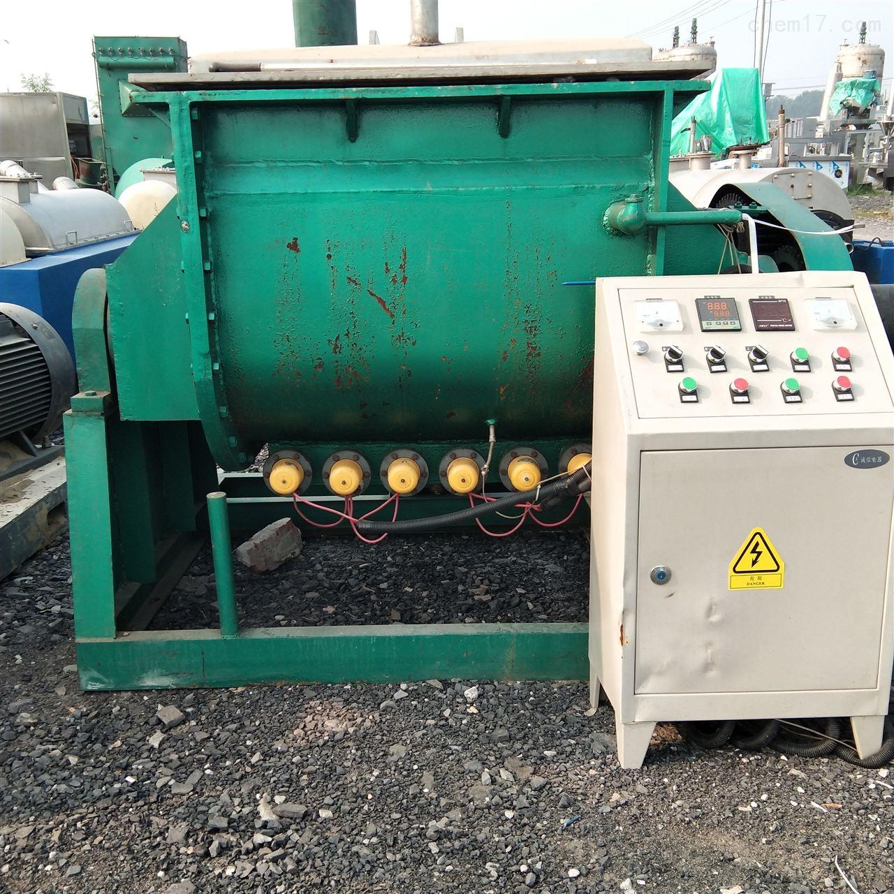 高价回收2000升电加热捏合机