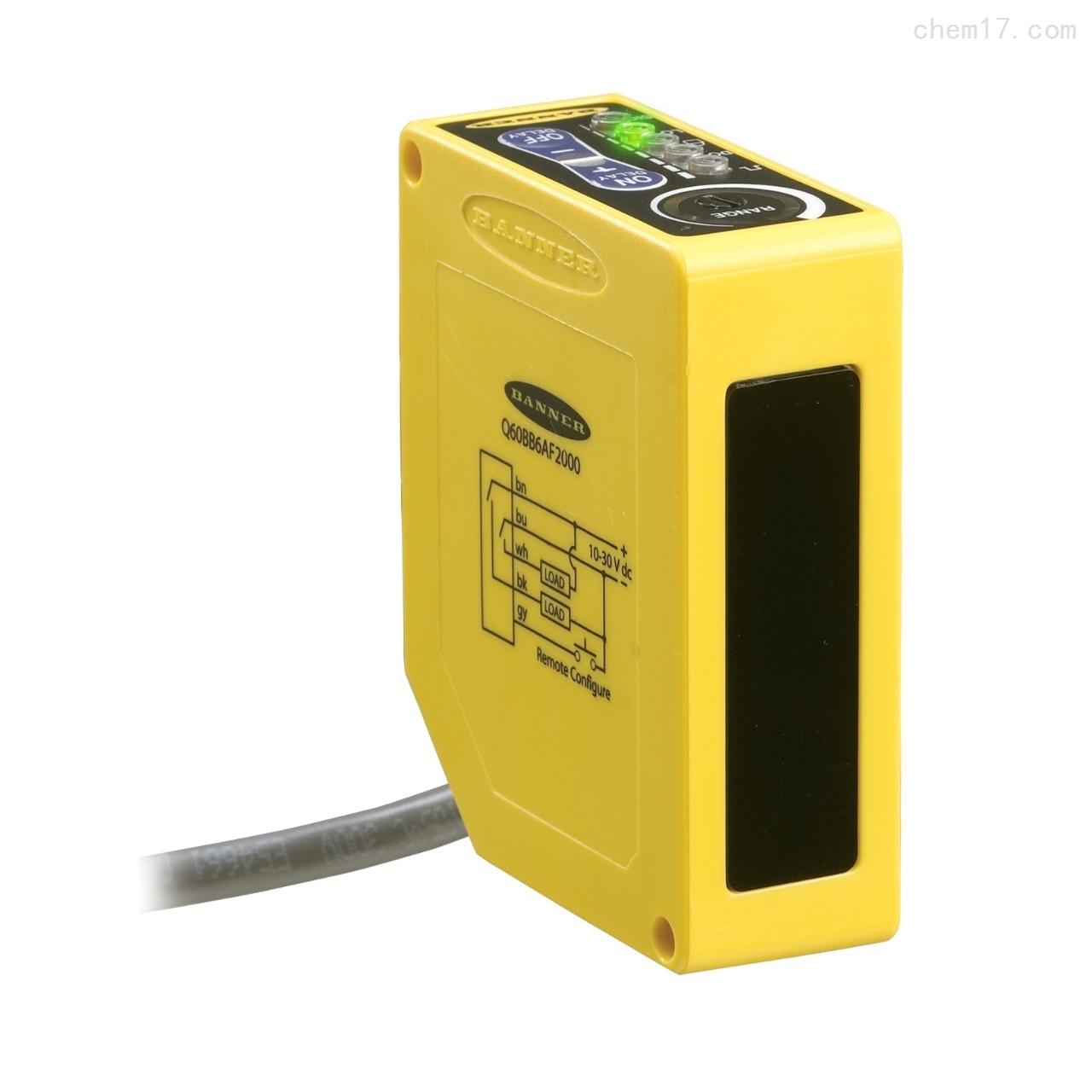 美国邦纳BANNER2米量程的可调区域式传感器