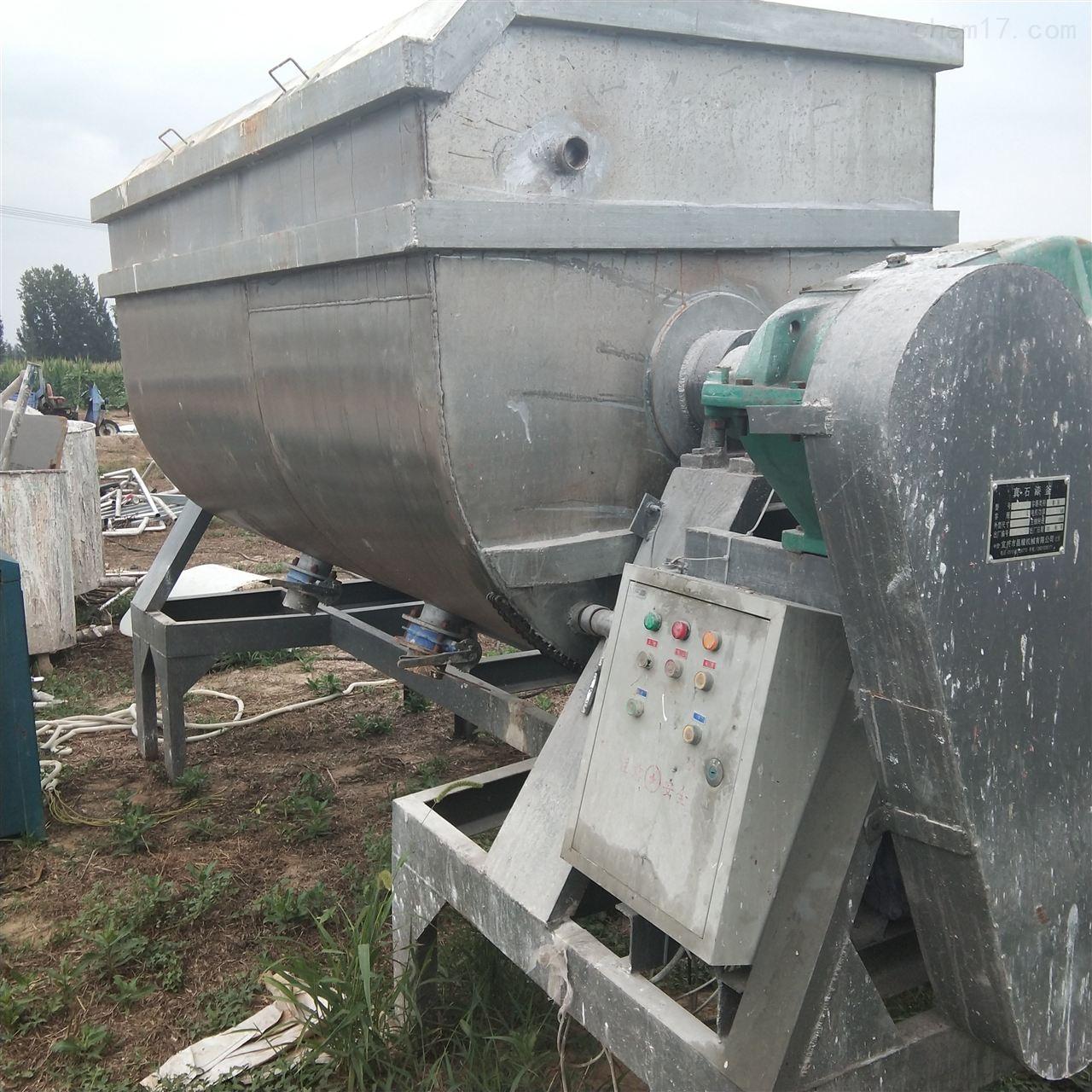 大量回收二手不锈钢混合机