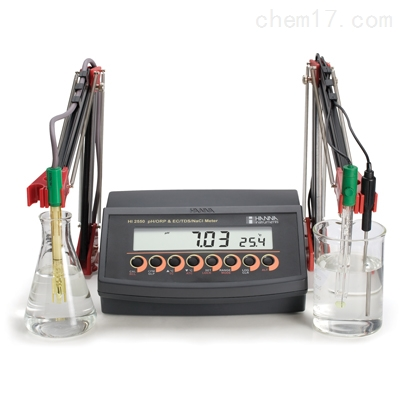 HI2550 微电脑盐度-°C多参数水质测定仪