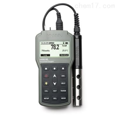 HI98198便携式(荧光法)DO-饱和溶氧测定仪