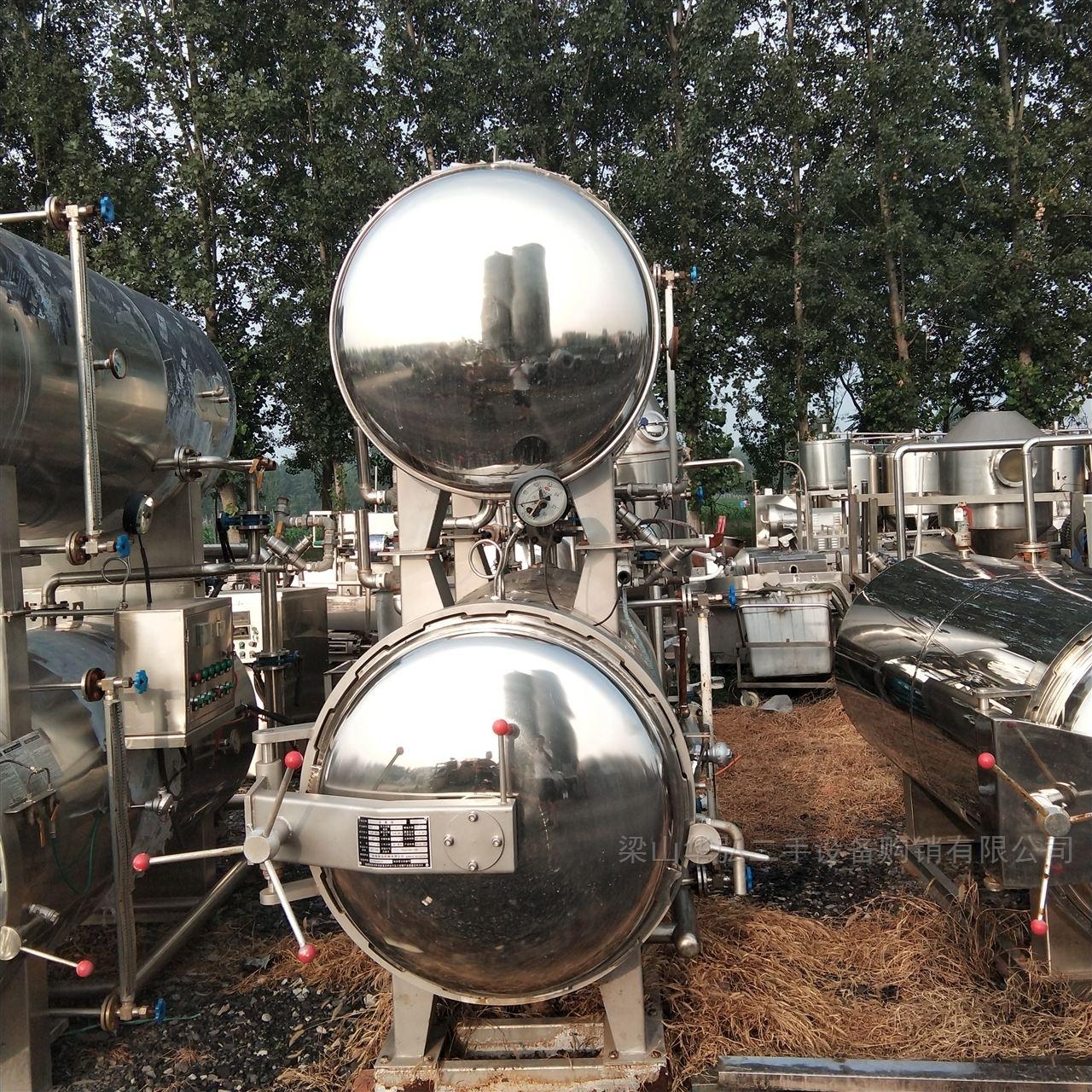 回收0.57立方蒸汽杀菌锅