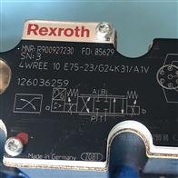4WREE10W3-75-2X/G24K31/F1Rexroth力士乐比例方向阀R900244748现货
