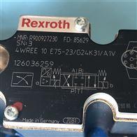 4WREE10E75-2X/G24K31/A1VRexroth力士乐比例阀R900927230德国产现货
