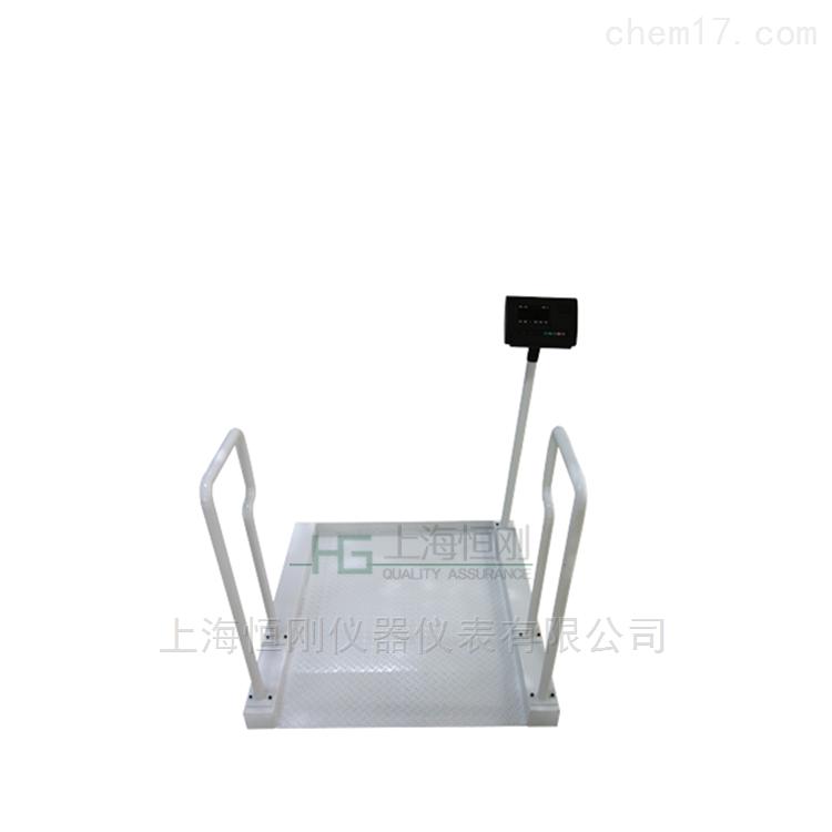 无线连接轮椅秤,不干胶打印医院专用轮椅称