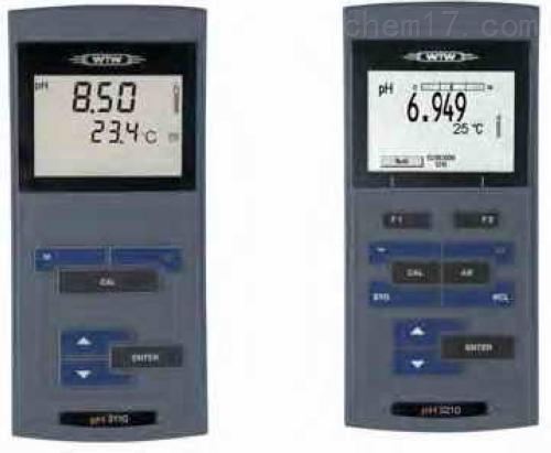 WTW 便携式pH酸度计 PH3110/3210/3310