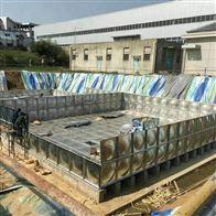 台州地埋式消防箱泵一体化消防水池