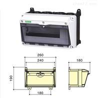 SIN1601一排组合插座箱