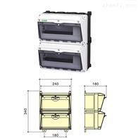 SIN1602双排组合插座箱