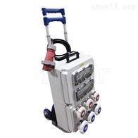 工业插座带推车移动电源箱