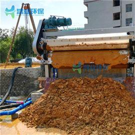 脱水机机制沙污泥榨泥机 沙石厂污水压滤设备