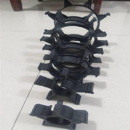 各型号 生产定制夹克管管道用塑料支架图片