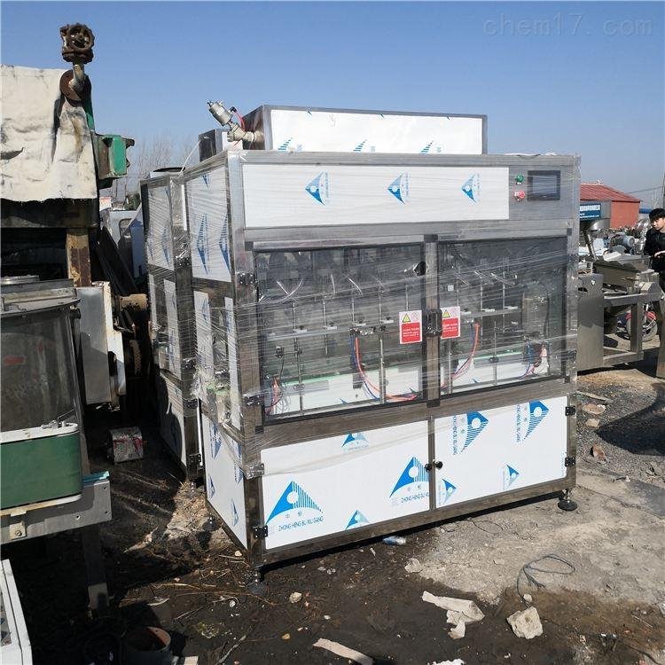 出售二手玻璃水直线灌装机