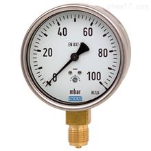 612.20德国威卡WIKA铜合金材质膜盒式压力表
