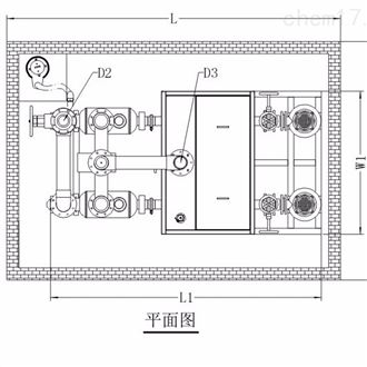 PE污水提升器箱体尺寸