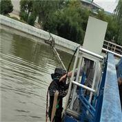 沉管临沧市过河水下管道安装精心施工