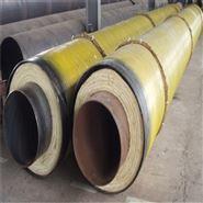 塑套钢埋地保温管厂家 预制聚氨酯发泡管道