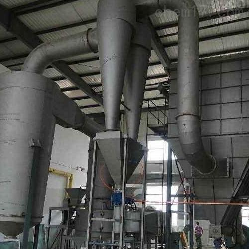 环保型硫酸铝气流干燥机