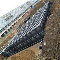 白城地埋式消防水池基础浇筑