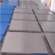 3吨可冲洗不锈钢小地磅,防水型电子平台称
