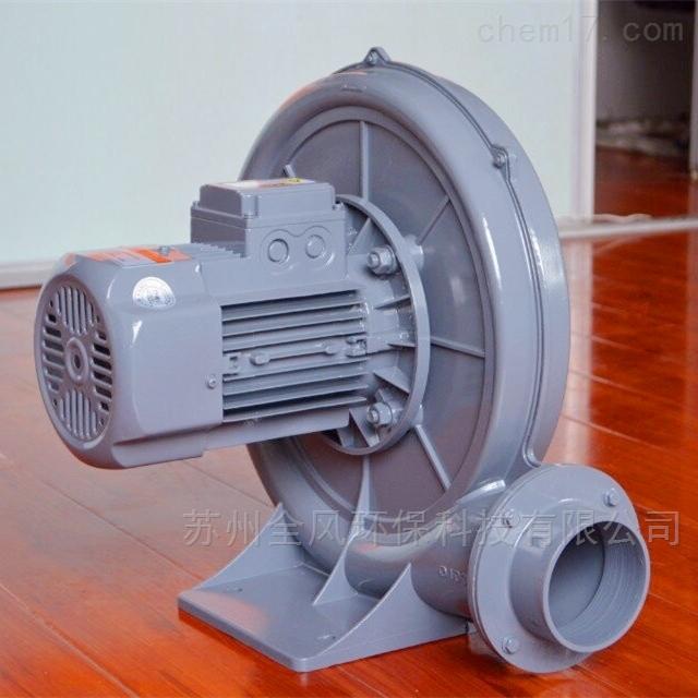 低噪音透浦式铸铝中压鼓风机