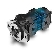 """POLARIS""""係列CASAPPA齒輪泵和電動機由鑄鐵製成"""