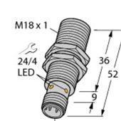 BI10U-M18-IOL6X2-H1141电感式传感器
