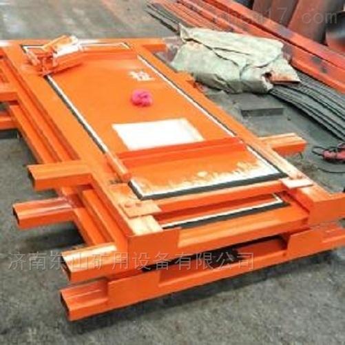 礦用竹膠板風門