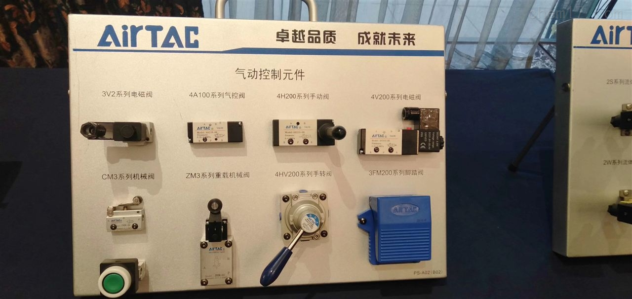 台湾亚德客HFT系列开口夹手指气缸总代理商