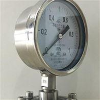 Y-100隔膜压力表