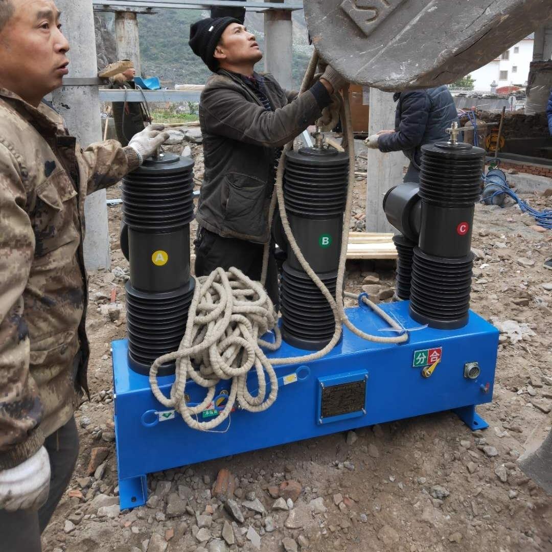 四川柱上小型化35KV智能真空断路器