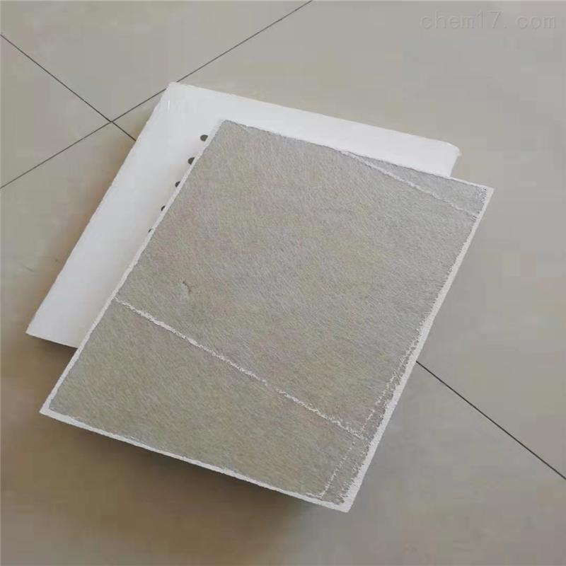 硅酸钙板冲孔贴棉吸音好