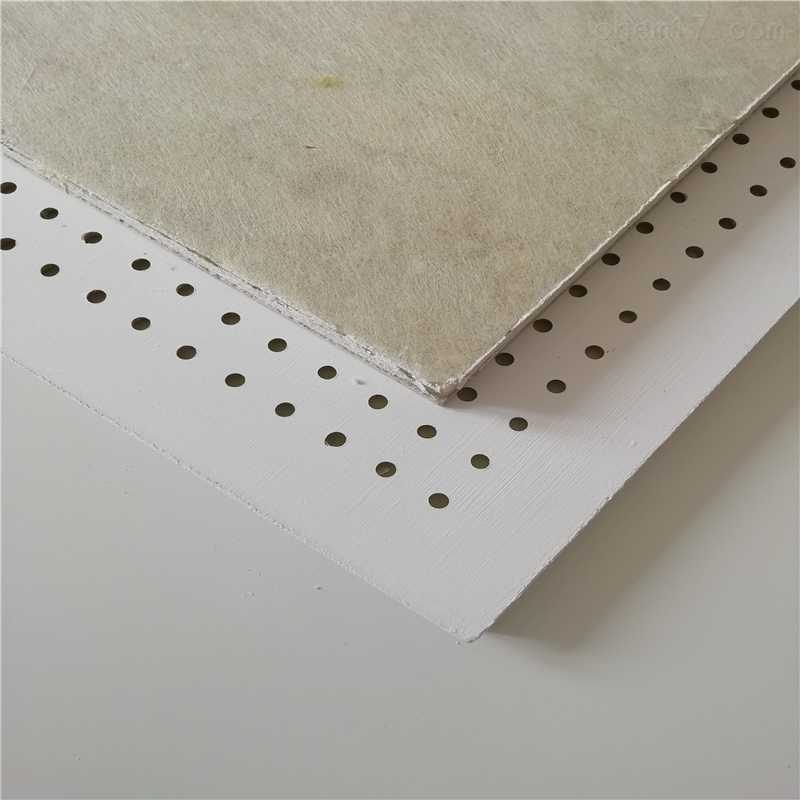 保温墙体穿孔硅酸钙吸音板
