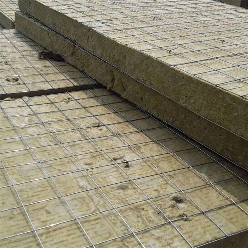 120公斤高密度钢网插丝岩棉板