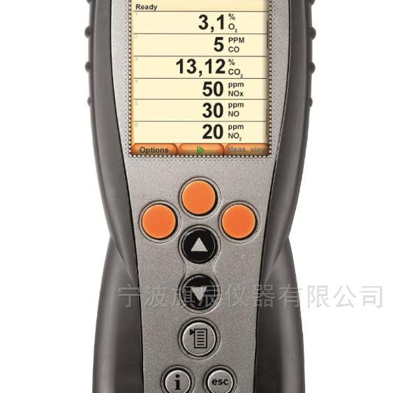 testo 烟气分析仪手操器350