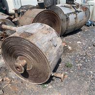 多种回收供应二手100平方螺旋板换热器