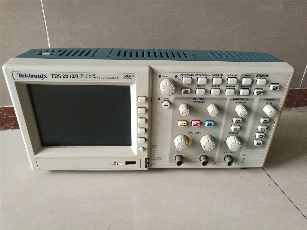 泰克TDS2012B示波器