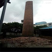 烟囱拆除东营市人工拆除废弃烟囱公司施工