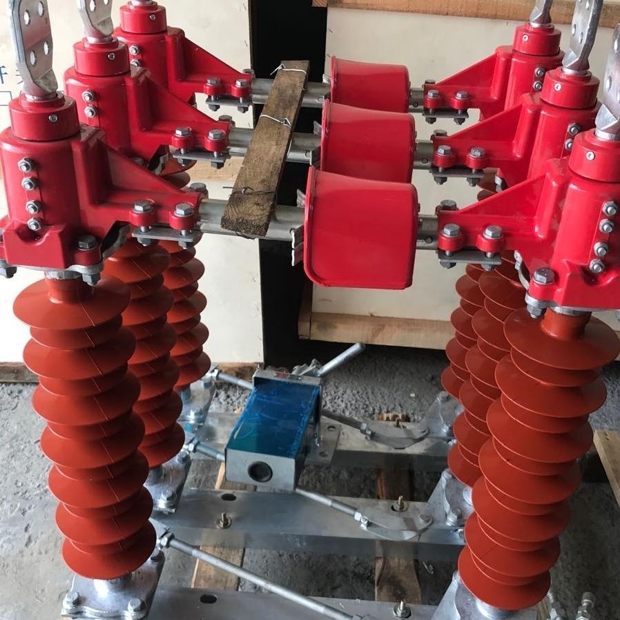 高原型电动操作GW4旋转式35kv高压隔离开关