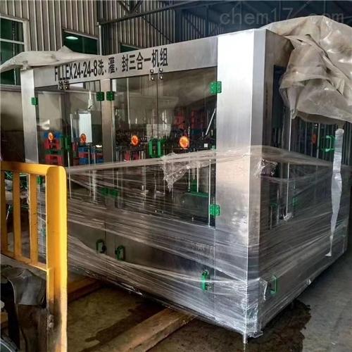 回收出售饮料灌装生产线 二手管式杀菌机