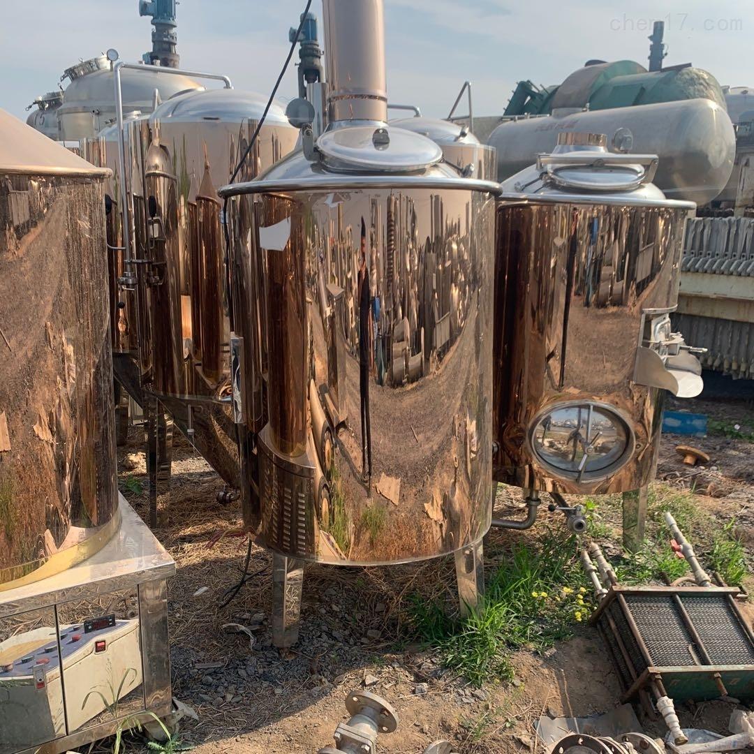 回收供应二手精酿啤酒设备现货
