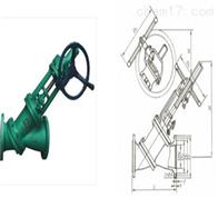 JS545Y气动伞齿轮Y型料浆阀