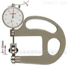 HR-1带滚轮的厚度测量仪日本孔雀PEACOCK