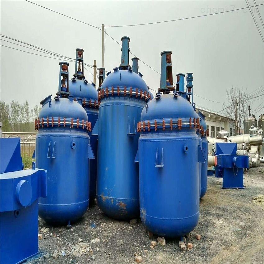 二手蒸汽加热反应釜回收