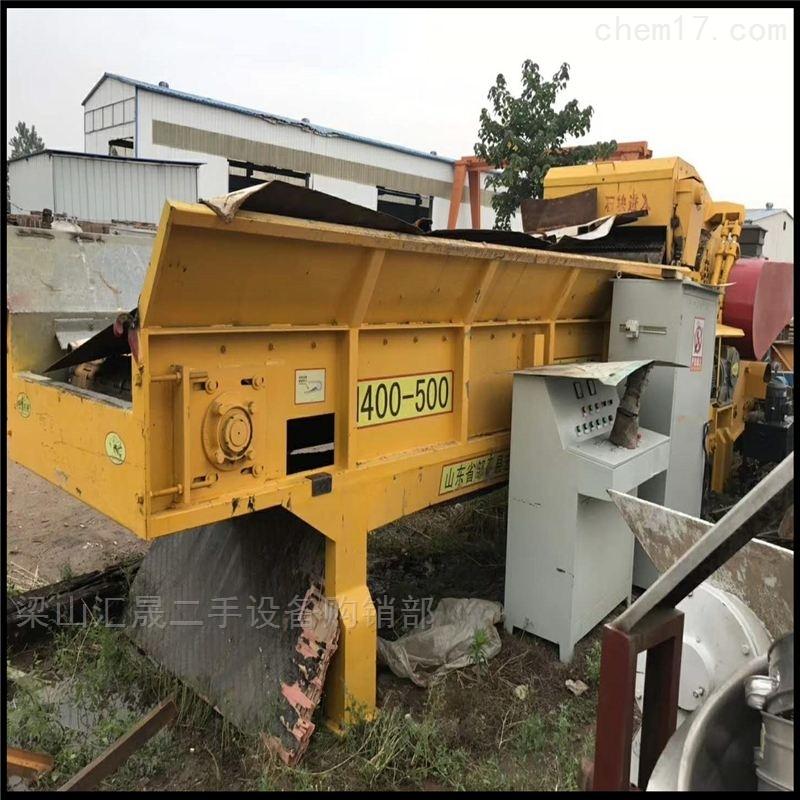 二手链板式综合破碎机、大量回收